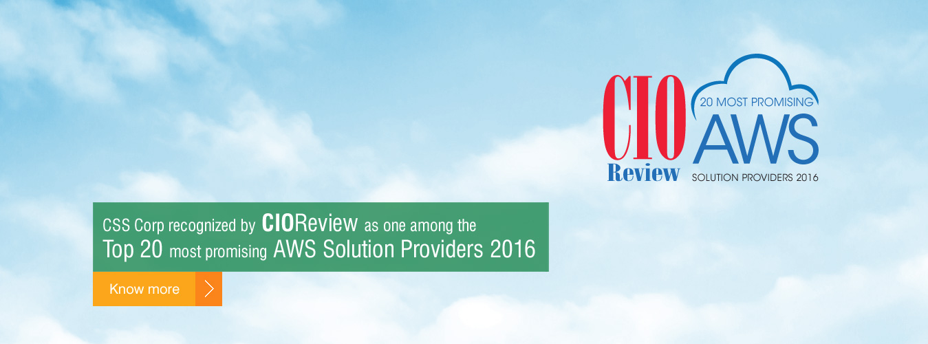 CSS Corp recognized by CIOReview