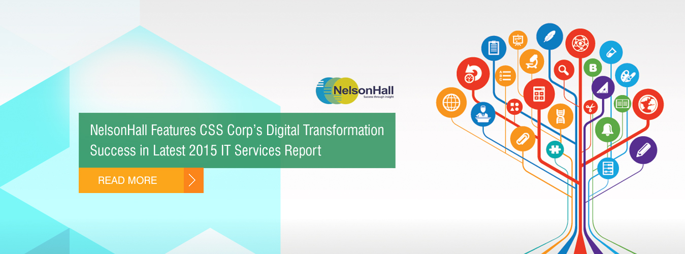 "NelsonHall features CSS Corp as a ""Disruptor"""