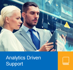 Analytics Driven Support